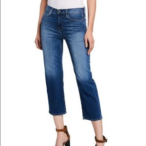 Hudson Stella mid rise cropped hens size 28
